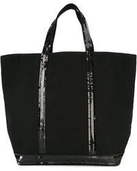 Vanessa Bruno Sequin Embellished Tote - Black
