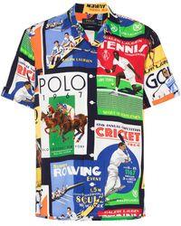 Polo Ralph Lauren T-shirt Met Print - Blauw