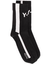 Y-3 ロゴ 靴下 - ブラック
