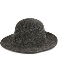Hermès Pre-owned Knot Detail Hat - Black