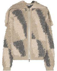 Stella McCartney Флисовая Куртка С Капюшоном - Многоцветный