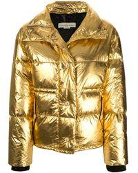 Golden Goose Deluxe Brand Пальто Yuri С Эффектом Металлик