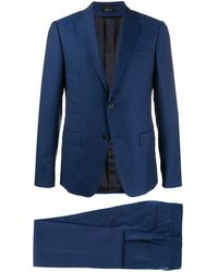 Z Zegna ツーピース スーツ - ブルー