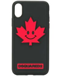 DSquared² 'Canadiana' iPhone X-Hülle - Schwarz