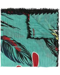 Zadig & Voltaire Delta Paradise スカーフ - グリーン
