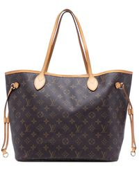 Louis Vuitton - Сумка-тоут Neverfull Pre-owned - Lyst