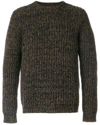 Mp Massimo Piombo | Textured Sweater | Lyst