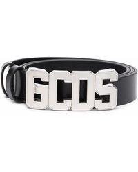 Gcds ロゴバックル ベルト - ブラック