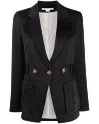 Veronica Beard ボタン ジャケット - ブラック