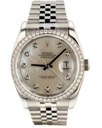Rolex 2016 Pre-owned Datejust 36mm - White