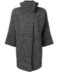 Liu Jo - Cropped Sleeve Cardi-coat - Lyst