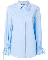 Vivetta - Embroidered Detail Shirt - Lyst