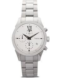 Tasaki Наручные Часы Odessa Chronograph 40 Мм - Белый