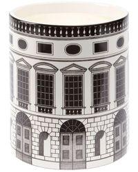 Fornasetti Profumi Architettura Scented Candle (1.9kg) - Black