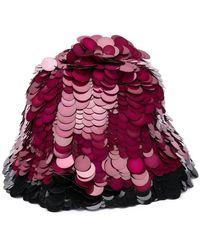 Marni - Contrast Embellished Hat - Lyst