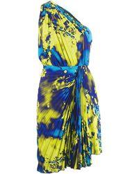 MSGM - Платье На Одно Плечо - Lyst
