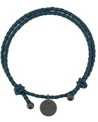Bottega Veneta - Double Intrecciato Bracelet - Lyst