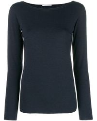 Stefano Mortari - Long Sleeve Fitted Top - Lyst