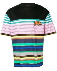 Prada - ボーダー Tシャツ - Lyst