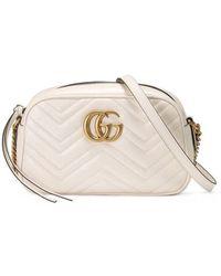 Gucci - Sac à épaule GG Marmont matelassé - Lyst