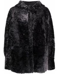DROMe オーバーサイズ ジャケット - ブラック