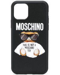 Moschino テディベア Iphone 11 Pro ケース - ブラック