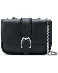 Longchamp - Foldover Buckle Shoulder Bag - Lyst