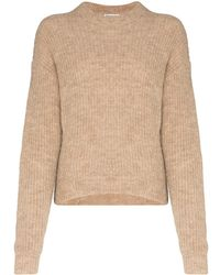 Reformation Finn High-neck Knitted Sweater - Multicolor