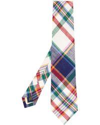 Polo Ralph Lauren Cravate à motif tartan - Multicolore