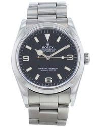 Rolex Наручные Часы Explorer Pre-owned 36 Мм 1991-го Года - Черный