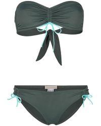 Tara Matthews - Nonza Bandeau Bikini Set - Lyst