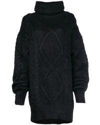 Maison Margiela Cable Knit Sweater - Черный