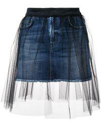 c4b40fd5 Minifalda Lorelle de jeans Citizens of Humanity de color Azul - Lyst