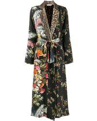 Anjuna Adelaide Robe Coat - Black