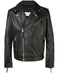 Calvin Klein Байкерская Куртка - Черный