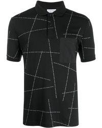 Calvin Klein Рубашка-поло С Логотипом - Черный