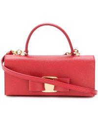 Ferragamo - Vara Bow Mini Bag - Lyst