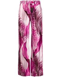 F.R.S For Restless Sleepers - Palm Tree Print Trousers - Lyst