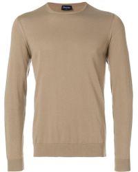 Drumohr - Crew Neck Sweater - Lyst