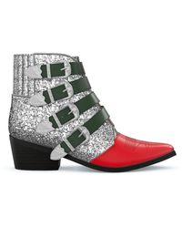 Toga Aj006 Boots - Metallic