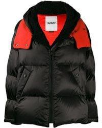 Army by Yves Salomon Oversized Puffer Coat - Black