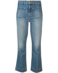 Khaite - Jeans Met Opgestikte Zakken - Lyst