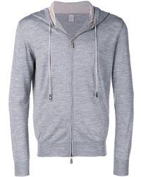 Eleventy Zip up hoodie - Gris