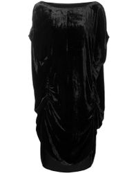 Paula Knorr - Cowl Back Relief Short Dress - Lyst
