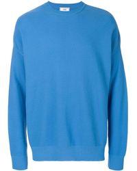 AMI Oversize crewneck sweater - Blu