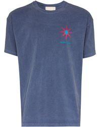 Nicholas Daley Cosmic Sun Tシャツ - ブルー