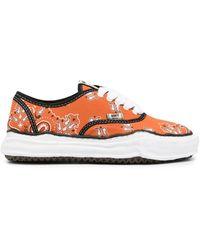 Maison Mihara Yasuhiro Peterson OG Sole Sneakers - Orange