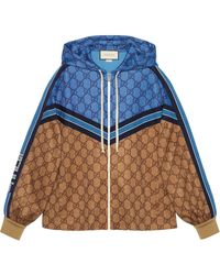 Gucci - GG Technical Jersey Jacket - Lyst