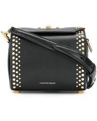 Alexander McQueen Box Bag - Black