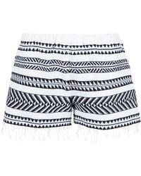 lemlem - 'freya' Embellished Shorts - Lyst